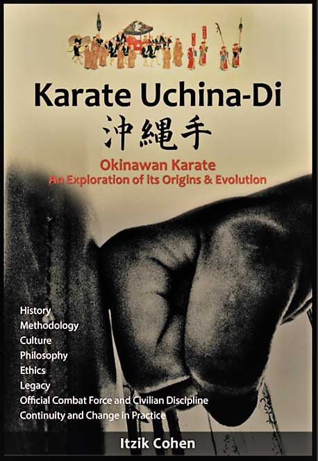Book: Karate Uchina-Di Front-Cover