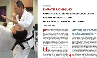 MAGAZINE OF TRADITIONAL BUDO n4 JUNE 2020 - Itzik Cohen